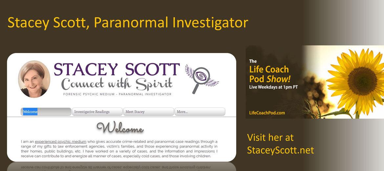 Paranormal Investigator Stacey Scott