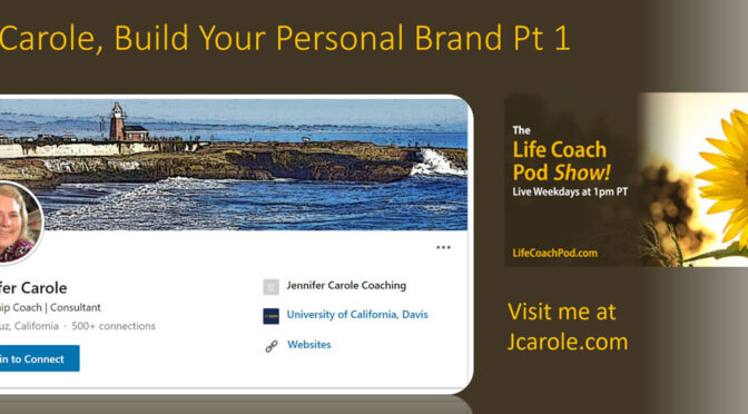 Building Your Personal Brand Jennifer Carole