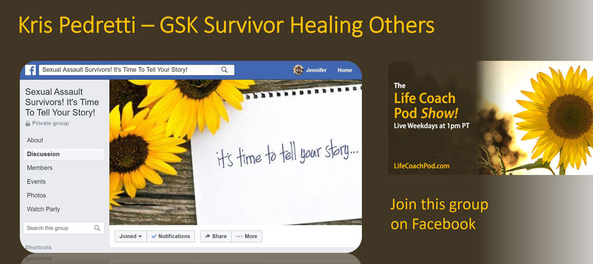 From Survivor to Advocate